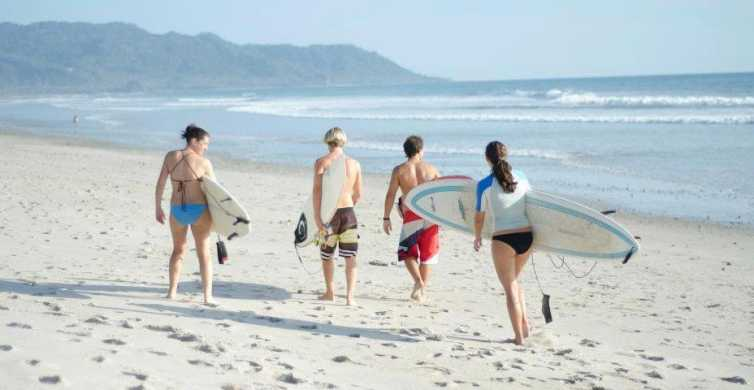 Private 2-Hour Surfing Lesson in Santa Teresa