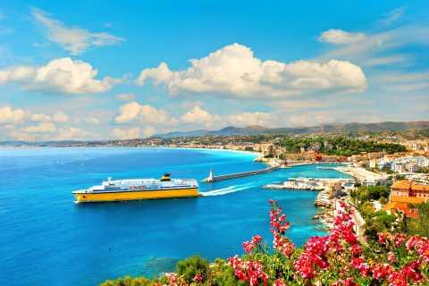 Visite privée de 8 heures de la Côte d'Azur au départ de Monaco