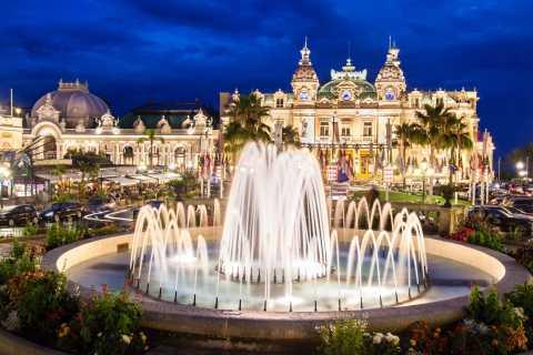 Monaco et Monte-Carlo: tour de nuit de 5h