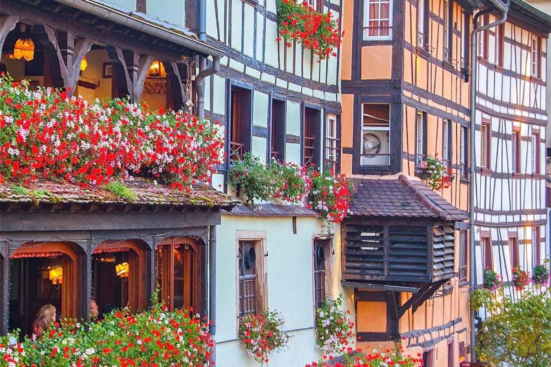 Ab Straßburg: Tagestour zu den Highlights des Elsass