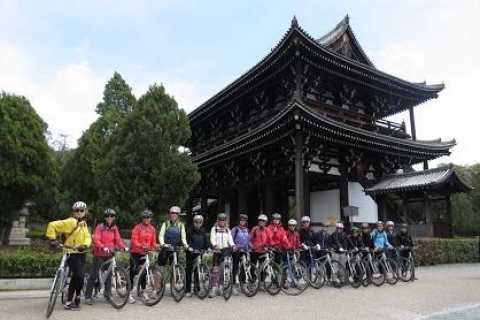 Kyoto: tour in bicicletta di 3 ore e 30 per piccoli gruppi