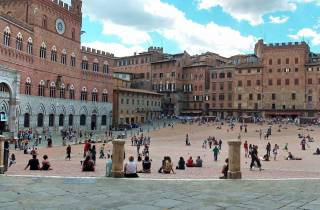 Siena & San Gimignano: Ausflug & Weinverkostung ab Rom