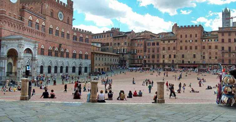 Siena y San Gimignano Tour de un día y catas de vino desde Roma