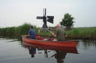 Amsterdam: 5 Stunden Kanufahrt im Feuchtgebiet