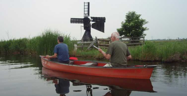 Amsterdam 5-Hour Guided Canoe Trip in the Wetlands