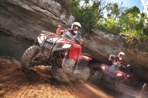 Zip Line Course and ATV Adventure: Full-Day Tour Cancun