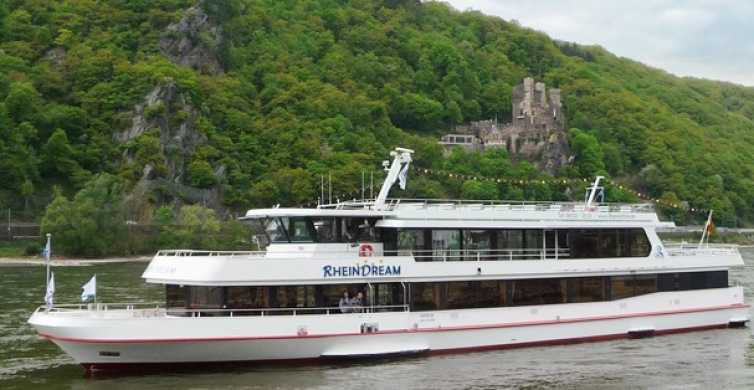 Rhine Valley Castles: 1.5-Hour Boat Tour from Rüdesheim