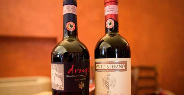 Chianti: degustazione di vino e olio d'oliva con visita alla cantina