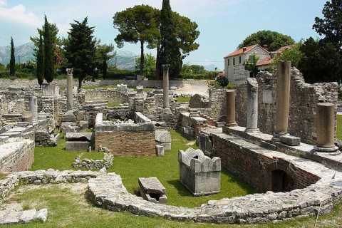 Split en Salona Cultural Heritage Day Tour van Trogir