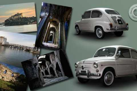 From Naples: Phlegraean Fields 5-Hour Fiat 500/600 Tour