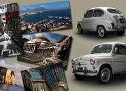 Neapel: Private Tour mit klassischem Fiat 500 oder Fiat 600