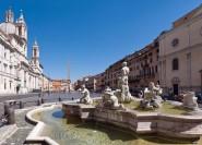 Brunnen & Plätze in Rom: Vormittagstour mit Mittagessen