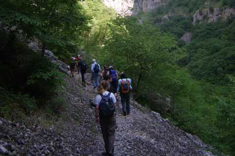 Caminata guiada de día completo por Vikos Gorge
