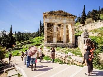 Ab Athen: Tagestour nach Delphi