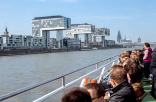 Köln: Panorama-Bootstour mit Optionen