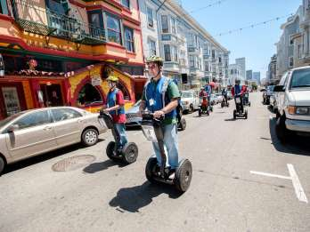 San Francisco: 2,5-stündige Segway-Tour Fisherman's Wharf