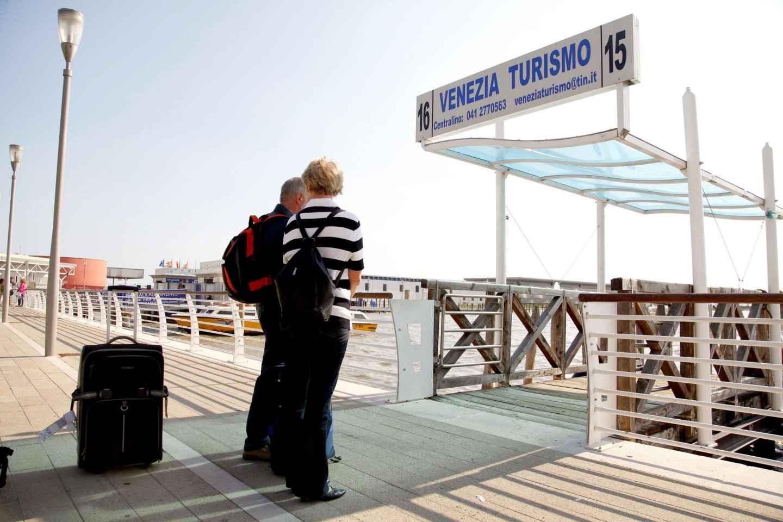 Venedig Flughafen Marco Polo: Transfer mit Wassertaxis