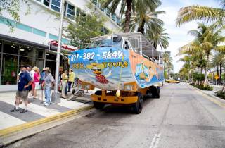 Wasserlandung in Miami: Duck Tour durch South Beach