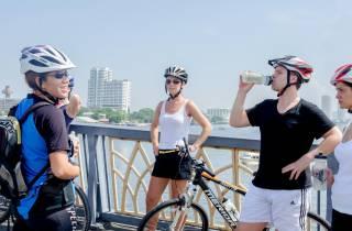 Bangkoks historische Stadtviertel: Radtour am Morgen