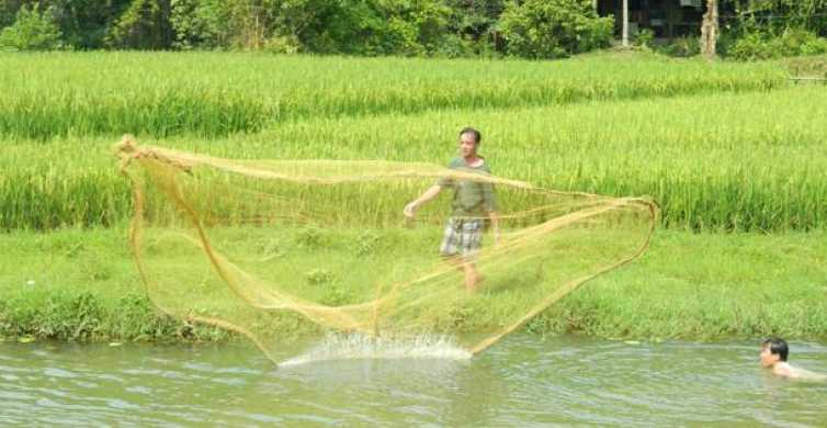 Fishing and Farming: 3-Day Trip to Mai Chau from Hanoi
