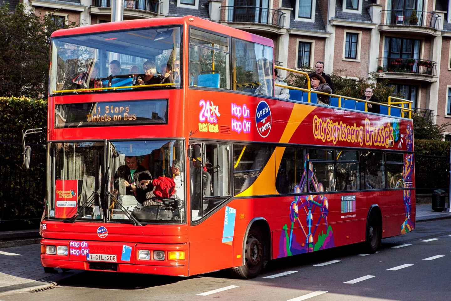 Brüssel: Hop-On/Hop-Off-Sightseeingtour - 24h/48h-Ticket