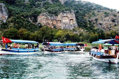 Full-Day Dalyan Boat Tour from Marmaris with Lunch