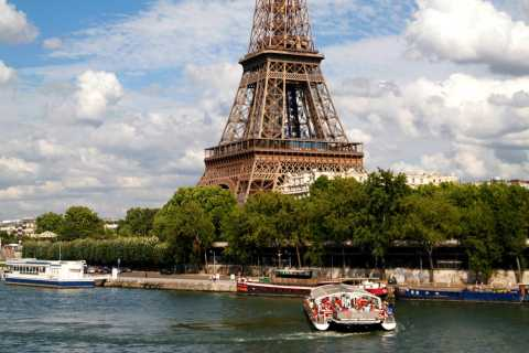Seine River Cruise and Moulin Rouge Show with Champagne