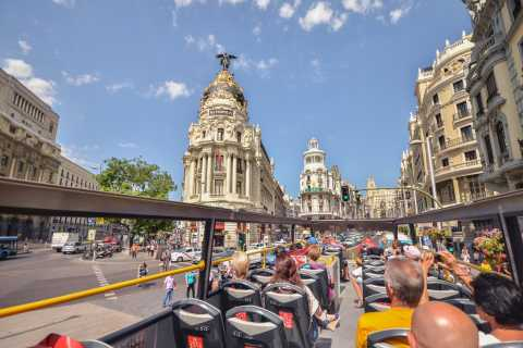 Madrid City Tour (Hop-On Hop-Off Bus Tour)
