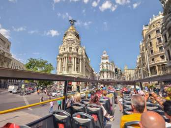 Madrid: Ticket für den Hop-On/Hop-Off-Bus