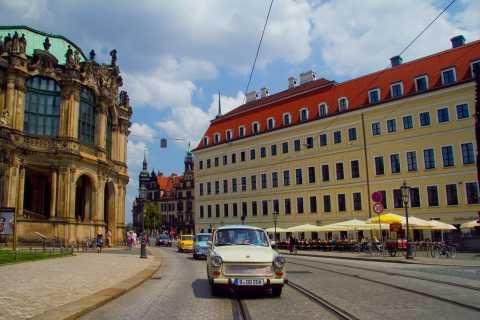 Dresda: Trabi Safari di 75 minuti