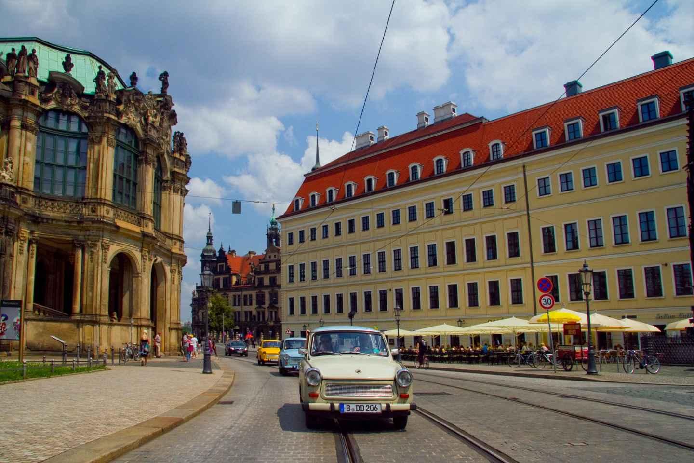 Dresden: 75-minütige Trabi-Safari