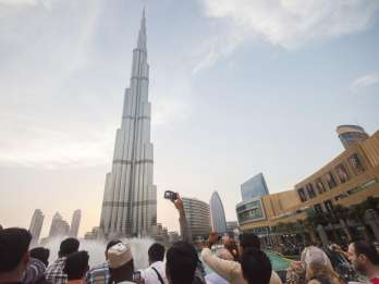 Burj Khalifa: Ticket mit einfachem Transfer