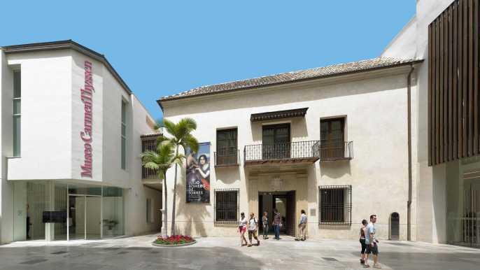 Málaga: Carmen Thyssen Museum Ticket