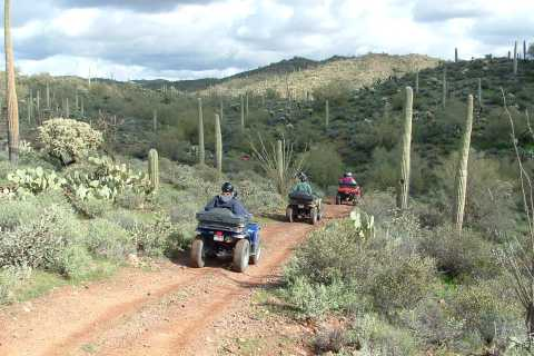 Box Canyon and Pinal Mountains Half-Day ATV Tour