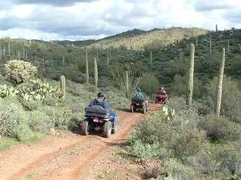 Box Canyon und Pinal Mountains Halbtages ATV-Tour