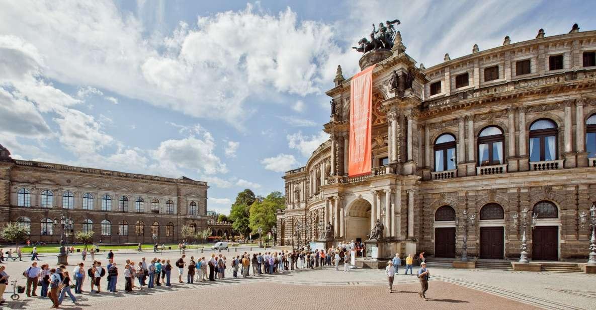 Kombiticket Dresden: Führung Semperoper & Altstadt