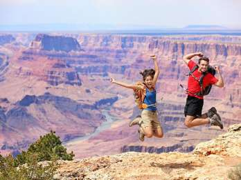Ab Sedona, AZ: Tour zum Grand Canyon