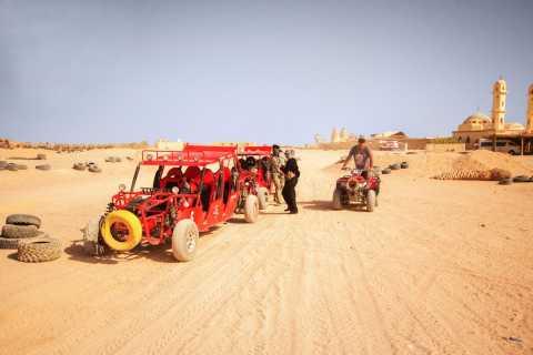 Hurghada: safari di 5 ore nel deserto in quad con grigliata
