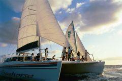 Nassau Catamaran Sail & Eco-Snorkel at Sea Garden