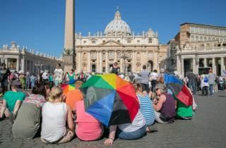 Päpstliche Audienz & Stadtrundfahrt mit ortskundigem Guide