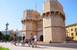 Fahrradtour durch Valencia