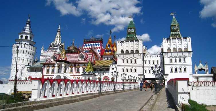 Moscow: Izmaylovo Kremlin and Flea Market Tour