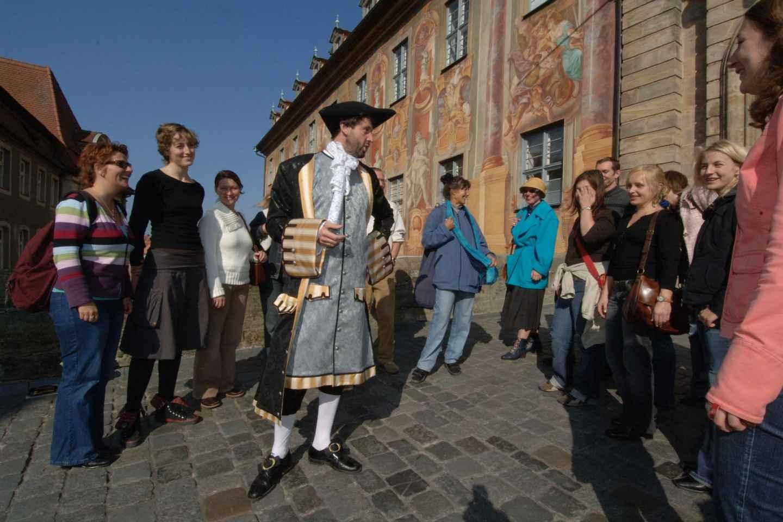 Bamberg: 1-stündige Theater-Führung mit kostümiertem Guide