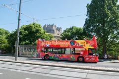 Edimburgo: Bilhete de 24 Horas para Ônibus Hop-On Hop-Off