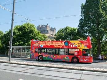 Edinburgh: 24-Stunden Hop-on-/Hop-off Sightseeing Tour