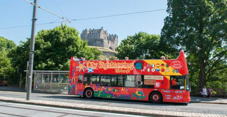 City Sightseeing Edinburgh: 24-Hour Hop-on Hop-off Bus Tour