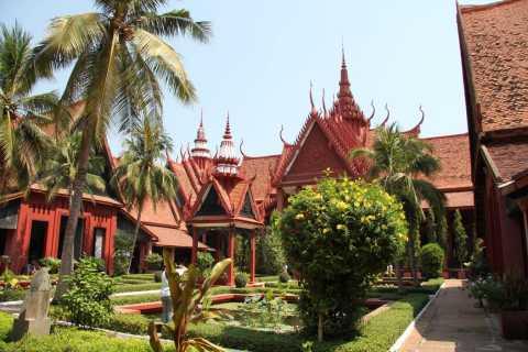 Phnom Penh: National Museum, Russian Market & Wat Phnom