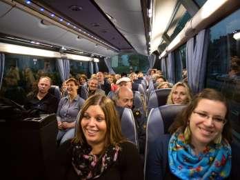 Köln: Tour mit dem Comedy-Bus
