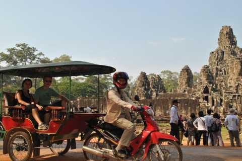 Angkor Thom Afternoon Tour by Tuk Tuk