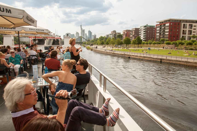Frankfurt am Main: 1-stündige Panoramabootsfahrt